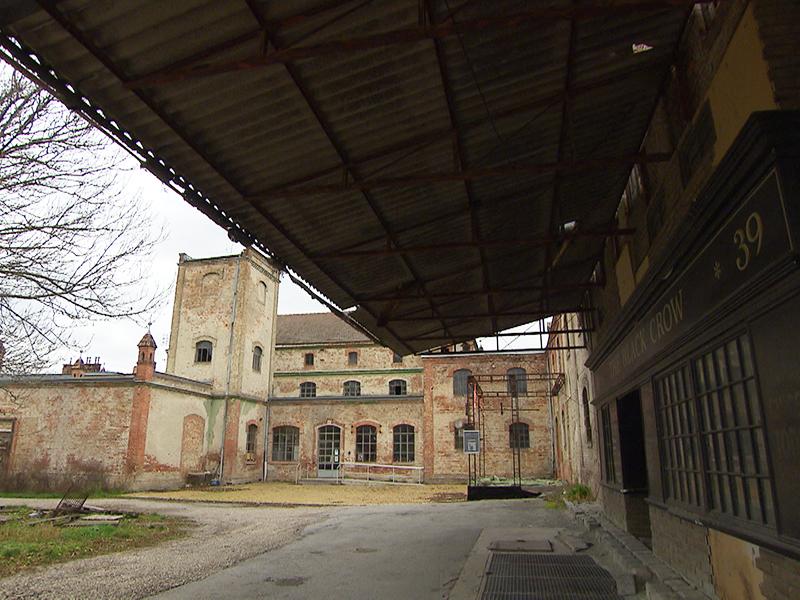 Alte Konservenfabrik in Bruckneudorf