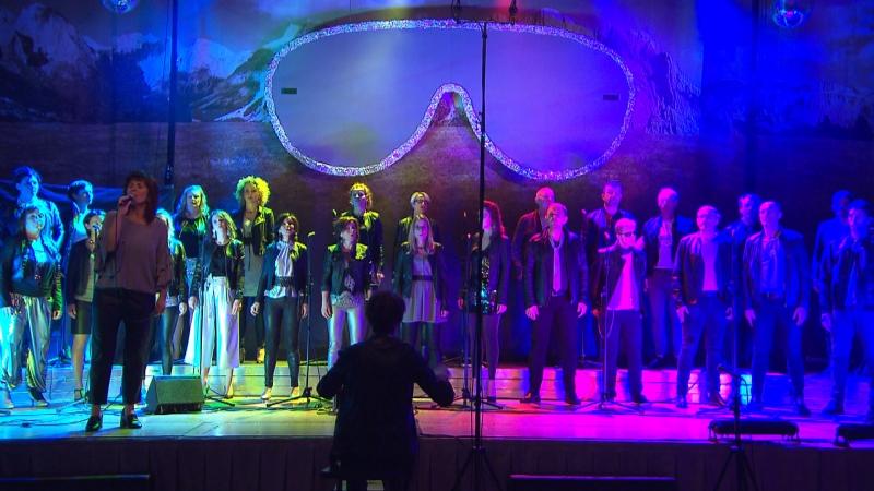 Südtiroler Chor bei Generalprobe