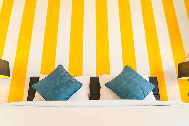 Symbolbild Doppelbett