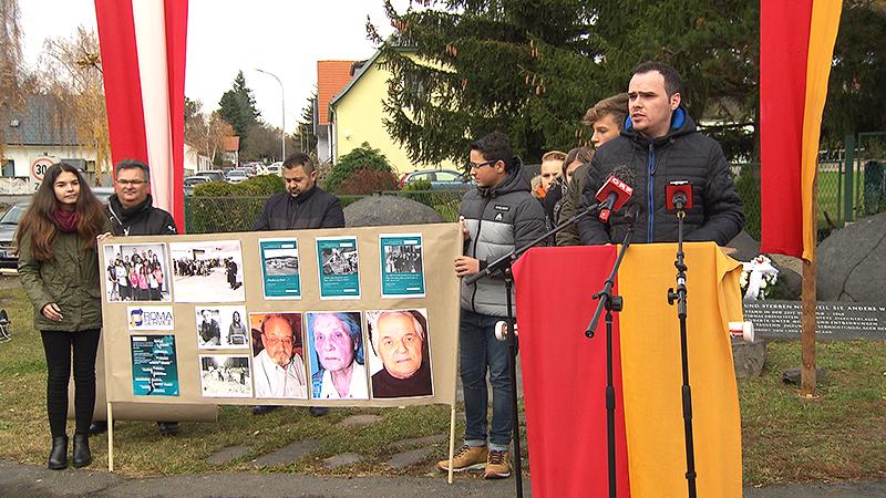 Gedenkfeier in Lackenbach