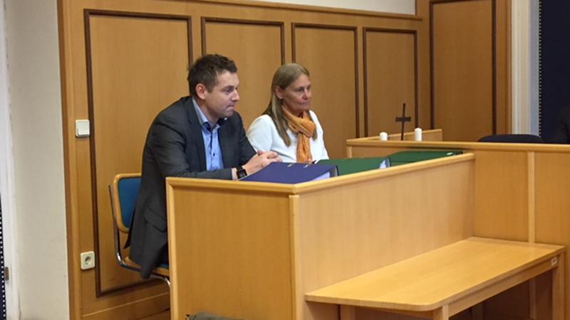 Rene Schnedl bei Gericht