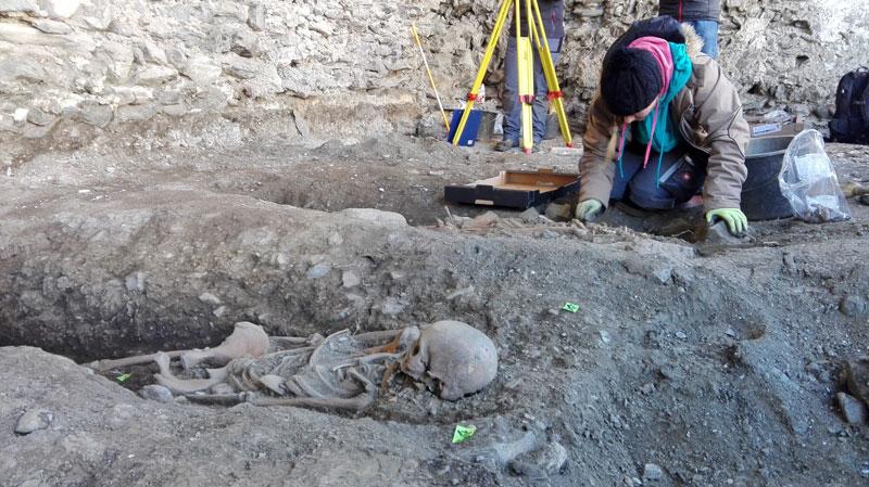 In Heinfels wurden Skelette gefunden