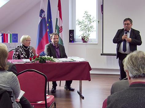 Porabje KKZ Kuchling slovenščina Jesih Perger Senik družini iniciativa