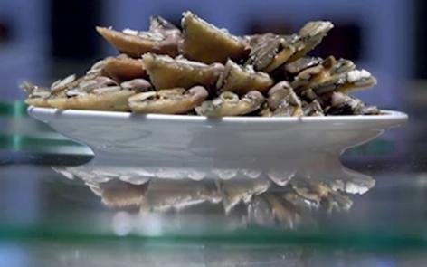 Kürbiskernflorentiner
