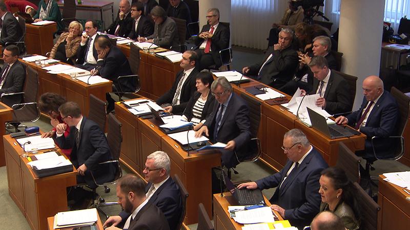 Landtagssitzung