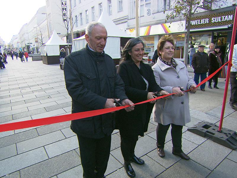 Meidlinger Hauptstraße in Wien: Neue Fuzo nach vier Jahren fertig