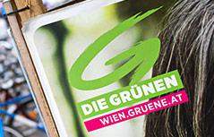 Plakat der Grünen