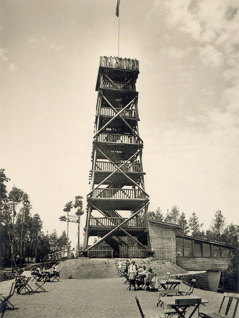 Keutschach Pyramidenkogel alte Aufnahmen