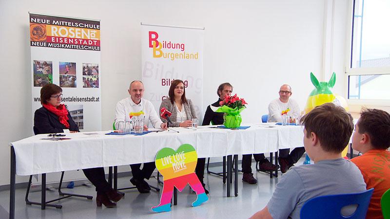 School of Walk Schüler gehen 24 Stunden Extrem Burgenland Tour