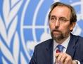 UN-Hochkommissar für Menschenrechte Zeid Ra'ad Al Hussein