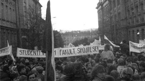 Albertov Praha studenti