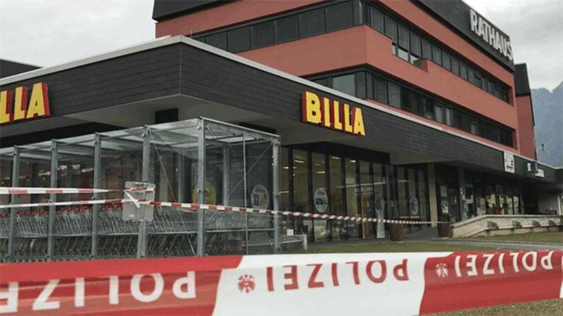 Bombendrohtung Kötschach Mauthen Billa