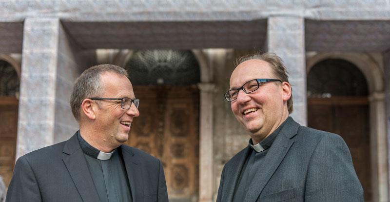Jakob Bürgler und Hermann Glettler