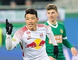 He-chan-Hwang Red Bull Salzburg Rapid