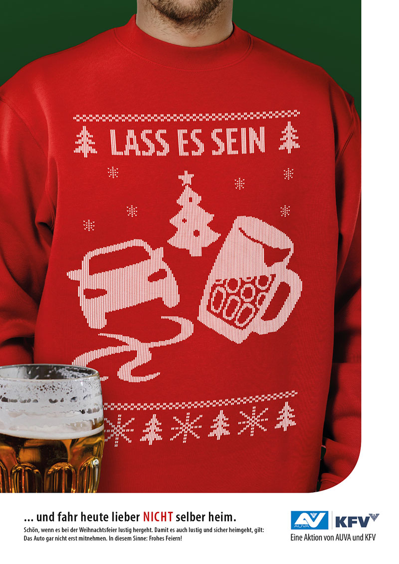 Weihnachtsfeier Plakat.Weihnachtsfeiern Aktion Gegen Alkofahrten Salzburg Orf At