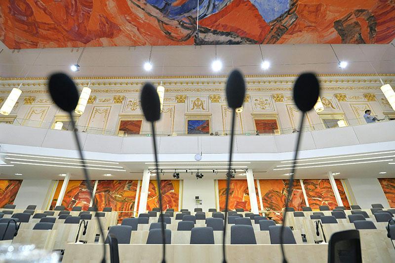 Nationalratssaal im Ausweichquartier in der Hofburg