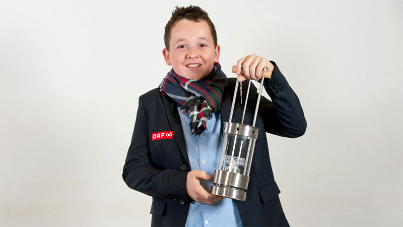 Friedenslichtkind Tobias Flachner 2017