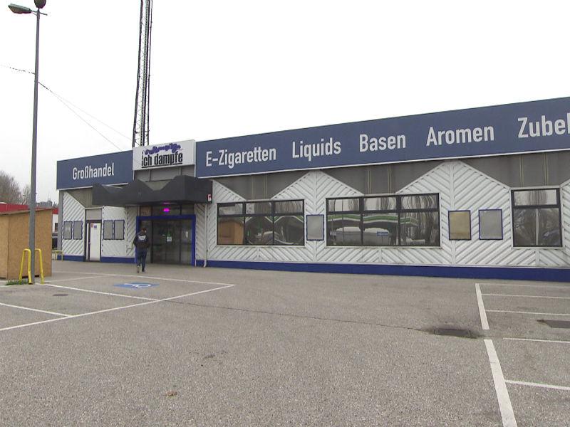 Aus ehemaliger Zielpunktfiliale wurde Geschäft für E-Zigaretten