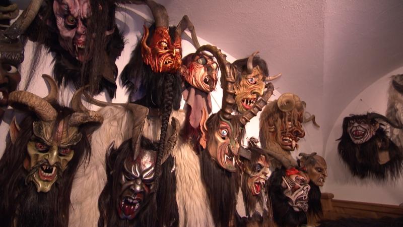Sammlung an Masken