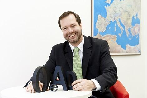 OeAD-Geschäftsführer Stefan Zotti