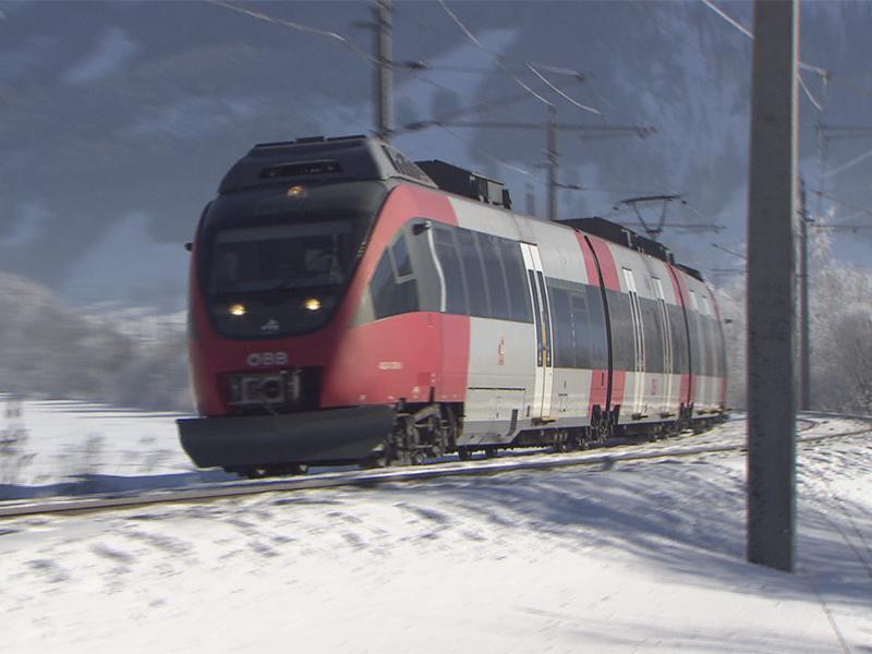 S-Bahn im Pinzgau