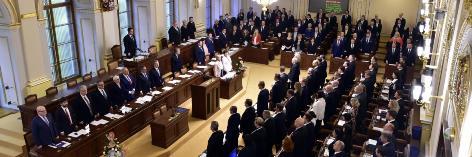 Zasedání nové sněmovny