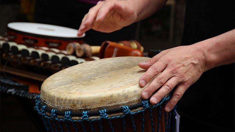 Trommeln Instrument Musik
