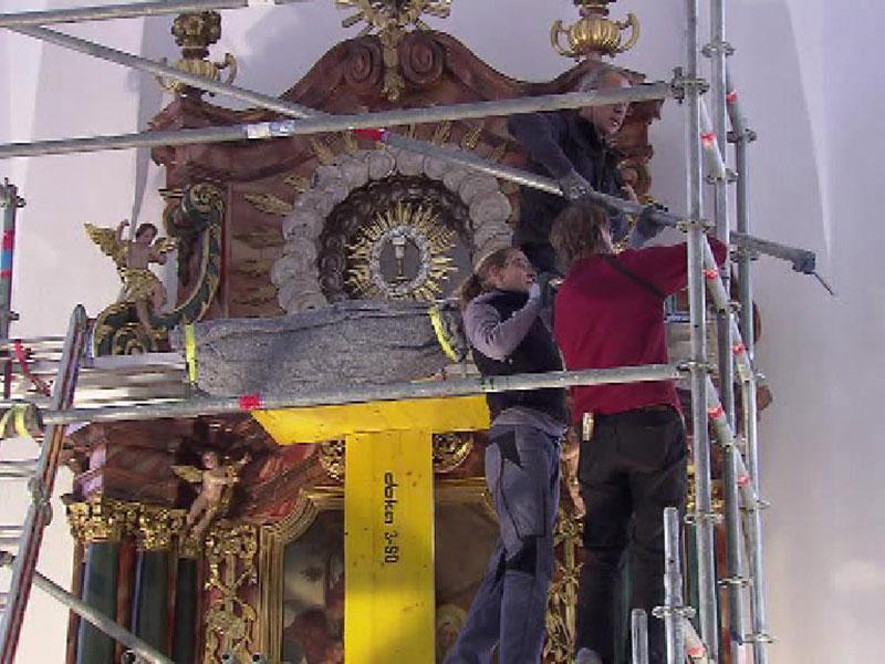 Renovierung Kirche Bildstein