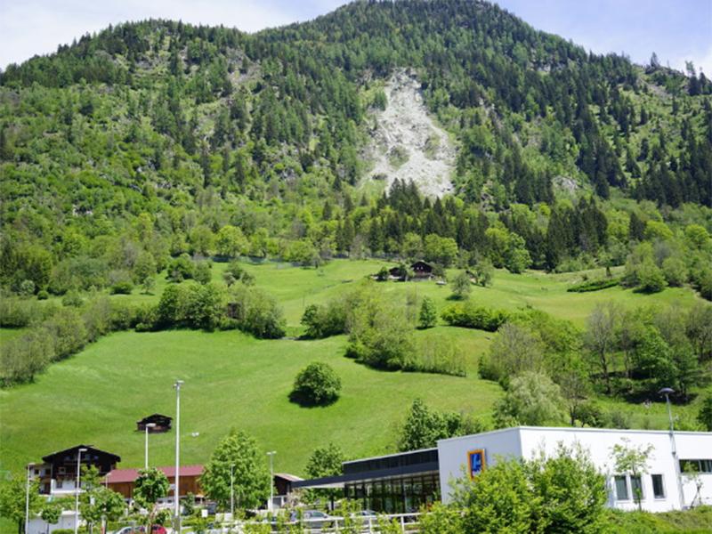 Felssprengung bei Bad Hofgastein
