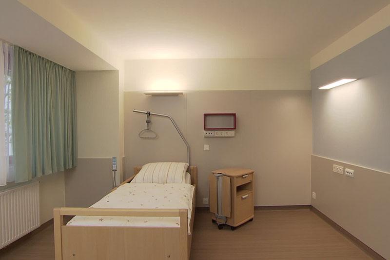 Zimmer im Hospiz Rennweg
