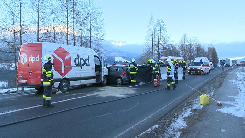 Unfall auf der B320