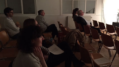 Bán Zsófia a bécsi Literaturhaus-ban