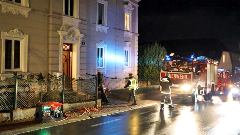 Einbruch Brandstiftung St. Florian