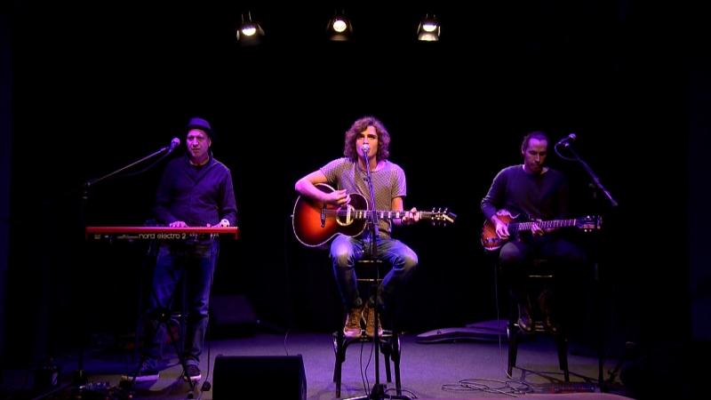 Philipp Trojer auf der Bühne