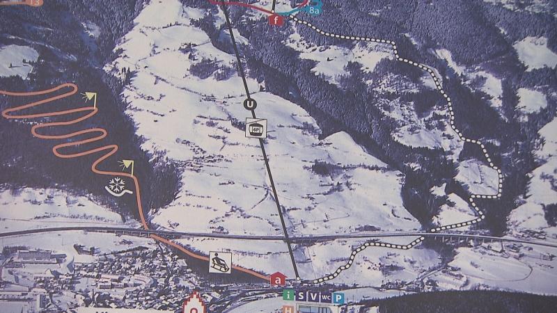 Skigebiet Rosskopf bei Sterzing