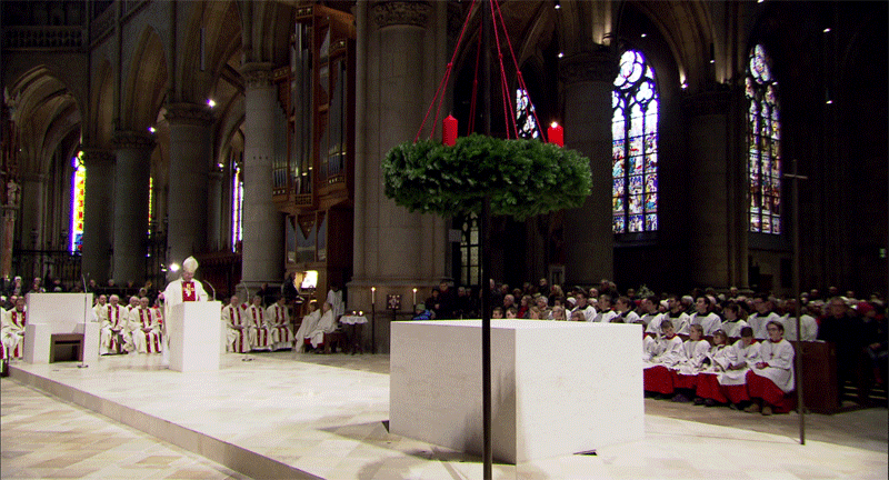 Neuer Altarraum