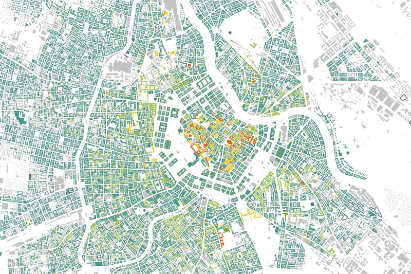 Wienkarten Urban Change in Time