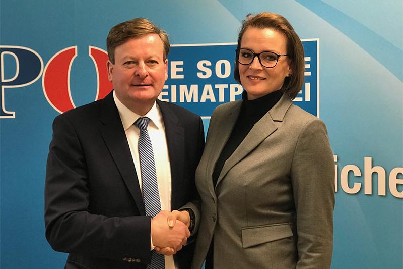 Bundesrat FPÖ Ina Aigner Gottfreid Waldhäusl