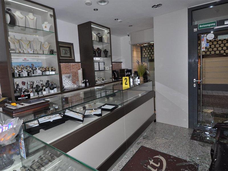 Überfall Juwelier St. Pölten