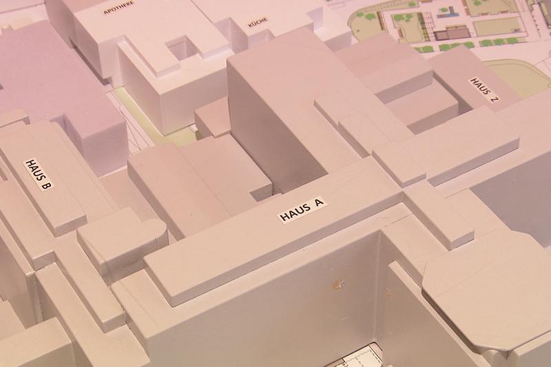 Modell Landesklinikum Wiener Neustadt