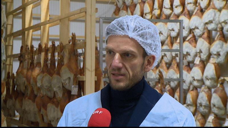 Schweine in Ukraine