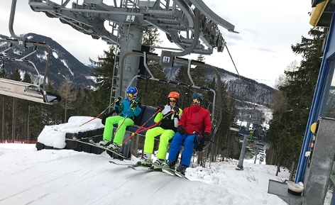 Wintertourismus Ausblick Skifahren NÖ