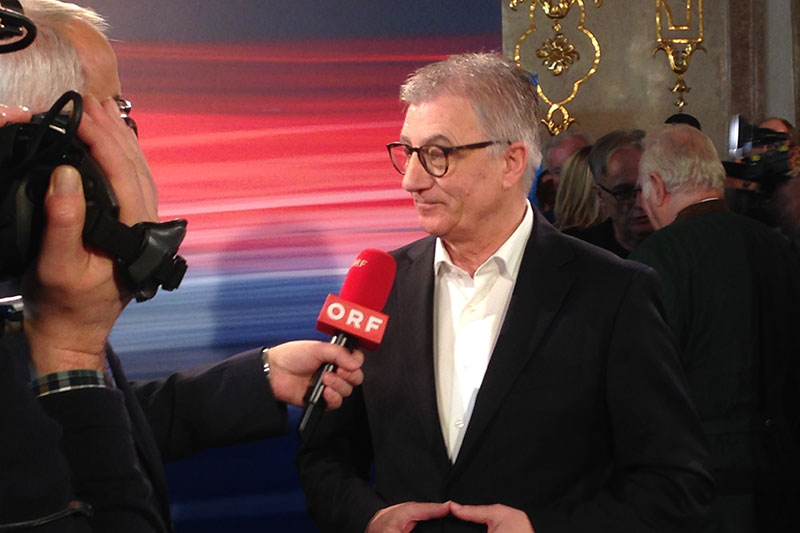 Salzburgs SPÖ Chef Walter Steidl im Wahl-Interview