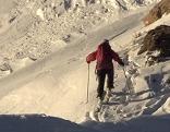 Sujetbild Tourengeher Skitour  Turrach Winter Schnee Berg