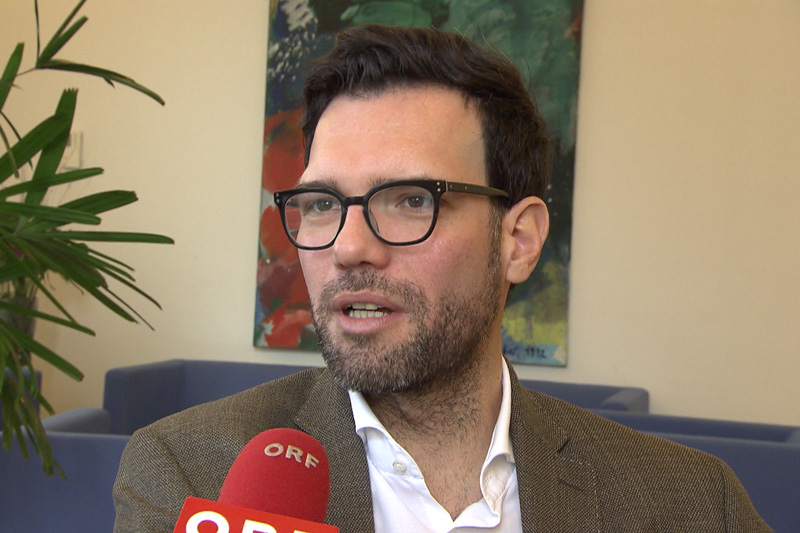 Stadtschulratspräsident Himmer
