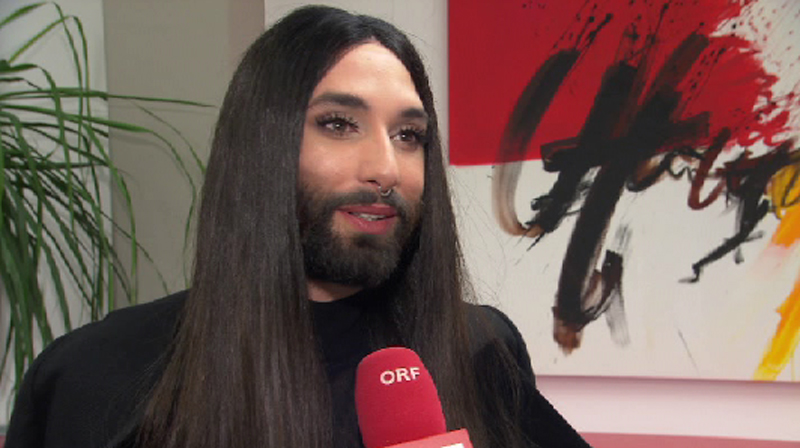 Conchita im Interview