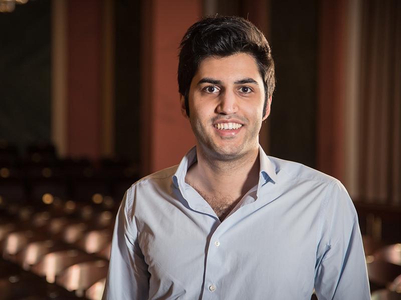 Kian Soltani Credit Suisse Young Artist Award