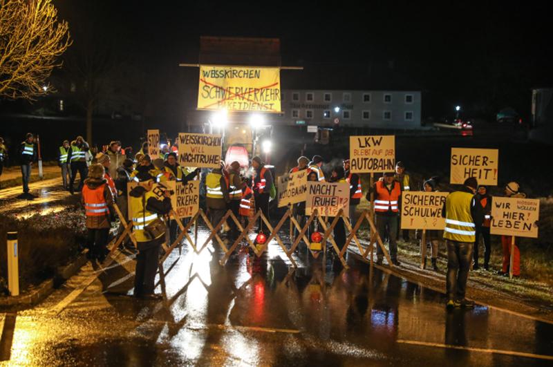 Demo in Weißkirchen