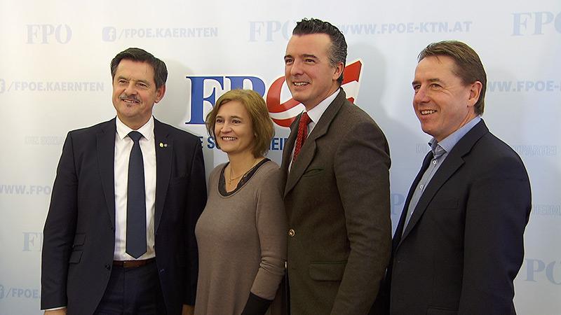 FPÖ Lobnig Darmann Angerer Elisabeth Dieringer Granza