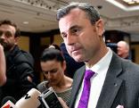 Norbert Hofer anl. der Beratungen der FPÖ-Gremien über das  Koalitionsabkommen zwischen ÖVP und FPÖ